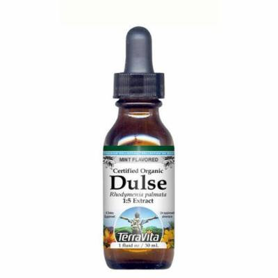 Organic Dulse Seaweed - Glycerite Liquid Extract (1:5) - Mint Flavored (1 fl oz, ZIN: 428287) - 2-Pack