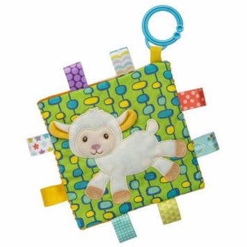 Mary Meyer Taggies Crinkle Me Baby Toy, Sherbet Lamb