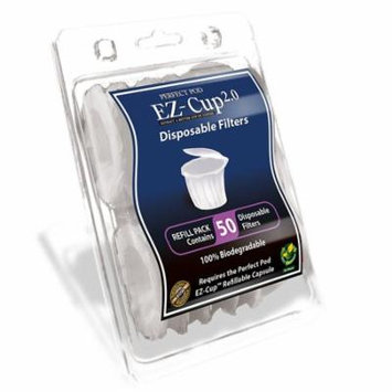 EZ-Cup Filters by Perfect Pod - 8 Pack (400 Filters)