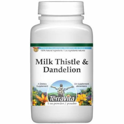 Milk Thistle and Dandelion Combination Powder (1 oz, ZIN: 512991) - 2-Pack