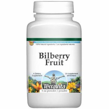 Bilberry Fruit Powder (1 oz, ZIN: 518766) - 2-Pack