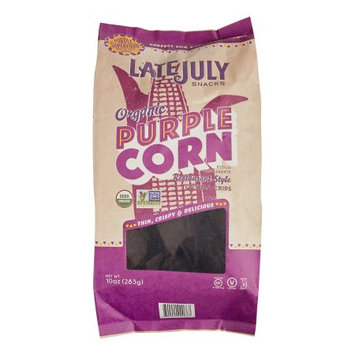 Late July® Snacks Restaurant Style Tortilla Chips Organic Purple Corn