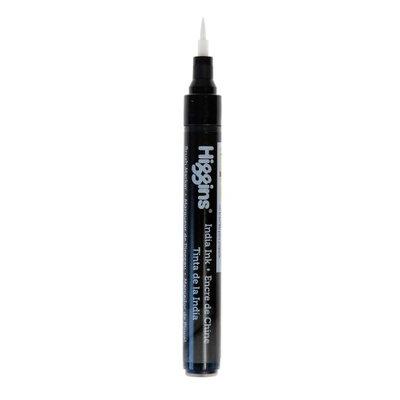 Higgins Ink Pump Markers India Ink, brush tip [pack of 2]
