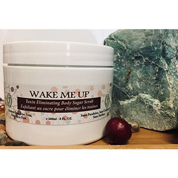 ALL NATURAL COFFEE AND COCONUT SUGAR SCRUB- HELPS ELIMINATE KERATOSIS PILARIS AND SMOOTH THE SKIN
