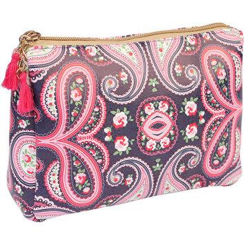 Riah Fashion Paisley Cosmetic Bag