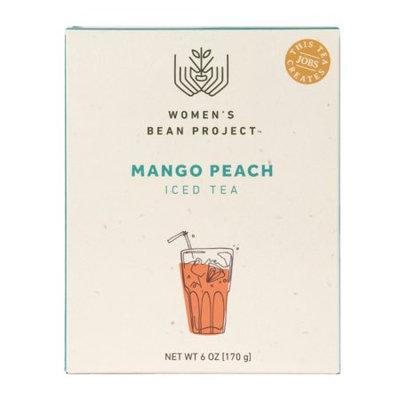 Women's Bean Project Mango Peach Iced Tea, 6 oz. box