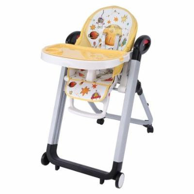 Multifunction Foldable Baby Chair Portable Telescopic Child Dining Table Chair GlSTE