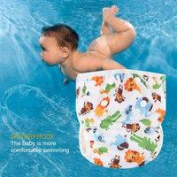 Washable Baby Adjustable Swim Diaper Pool Pant Waterproof Swimming Diaper