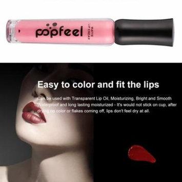 POPFEEL 6pcs Profession Matte Lip Cream Kit Waterproof Soft Texture Lip Gloss