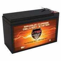 VMAXTANKS V10-63 12 Volt 10AH AGM 12V F2 Replacement APC BackUPS Pro 1000 B-655 Battery