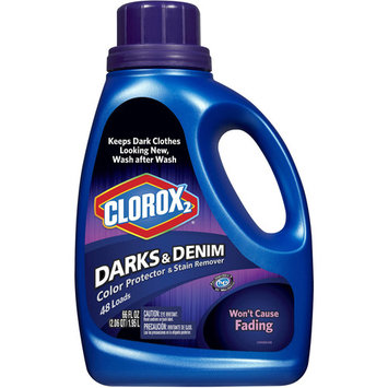 Clorox 2 Laundry Color Protector and Stain Remover, Darks & Denim, 66 oz