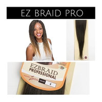 EZ Braid Professional 20 inches 1 Pack (Pre-Stretched) Braiding Hair (Color #4) (Brown)