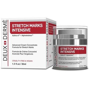 Deux Derme - Stretch Mark Intensive Cream With Vitamin E, Shea, Cocoa Butter for Pregnancy, Weight Gain (30ml)
