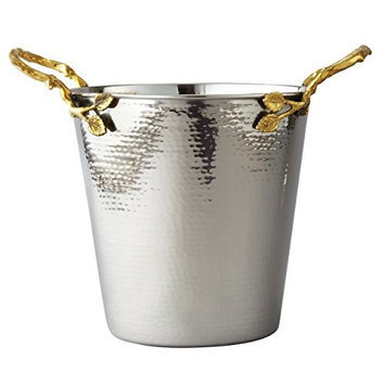 Elegance Golden Vine Hmmrd Wine Bucket, 11.5 h