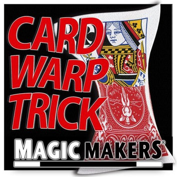 Card Warp Magic Trick - Use Your Own Cards! - Instructional Magic DVD from Magic Makers