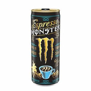 Espresso Monster 8.4 oz Can, Vanilla Espresso (Pack of 12)
