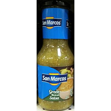 San Marcos Green Mexican Salsa 17 oz (Pack of 3)