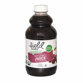Field Day Organic Tart Cherry Juice - Cherry Juice - Case of 12 - 32 FL oz.