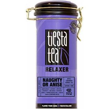 Apple Cinnamon Herbal Tea , Naughty or Anise by Tiesta Tea , Caffeine Free , Loose Leaf Herbal Tea Relaxer Blend , Non-GMO , 6 Ounce Tin