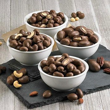 Double Chocolate Dipped Nuts