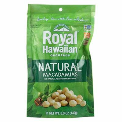 Royal Hawaiian Orchards Macadamias - Natural Roasted - Case of 6 - 5 oz.