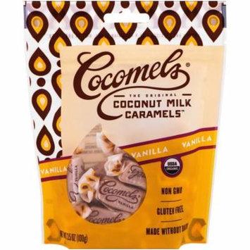 Cocomels, Organic, Coconut Milk Caramels, Vanilla , 3. 5 oz (pack of 6)