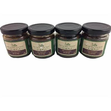 Hickory Farms Simply Fig Chutney Gluten Free 100% Natural Spread Dip Appetizer Holiday Sauce Condiments