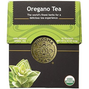 Buddha Teas Organic Oregano Tea - 18 Bags (Pack of 3)