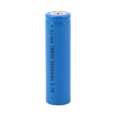 2017 New 20pcs/set Portable Large Capacity 1200MAH 18650 Reable Battery Torch Flashlight Replacement Battery Blue