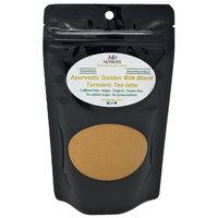 Ayurvedic Organic Golden Milk blend with no added sugar or sweetener; Turmeric, Ceylon Cinnamon, Ginger and Black Pepper; Anti-Inflammatory - Best for organic vegan latte recipe (5 oz, 120 cups)