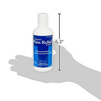 Topricin Pain Relief Therapy Cream (8 oz) Fast Acting Pain Relieving Rub