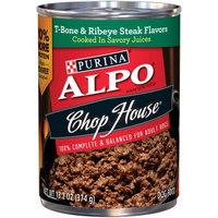 Nestle Purina ALPO Chop House T-Bone & Ribeye Steak Flavor In Gourmet Gravy Dog Food Case of 12- 13 oz. Cans