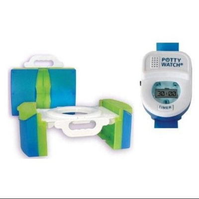 Travel Potty with Training Timer, Blue