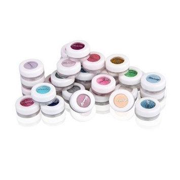 WAWO Powder Pigment Glitter Mineral Eyeshadow Makeup (30PCS)
