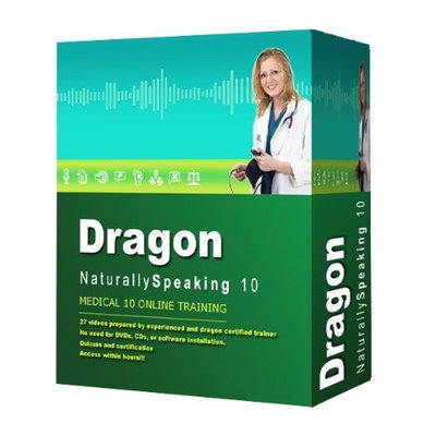 Dragon NaturallySpeaking 10 Medical - Online Training Program