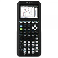 Texas Instruments TI 84 PLUS CE Graphing Calculator Black Frustration Free Packaging
