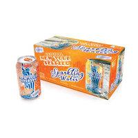Original New York Seltzer Sparkling Water, Orange, 12 Fl Oz (Pack of 8)