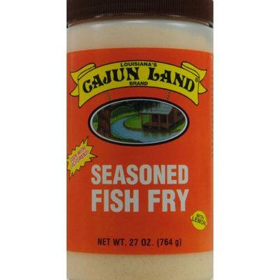 Cajun Land Brand G.l. Seasoned Fish Fry