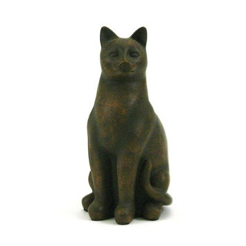 Terrybear Urns Grand Cat Cremation Urn - Tabby
