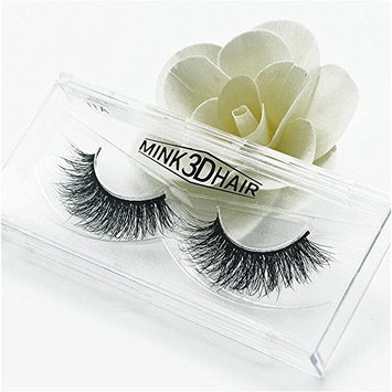 Long Thick Dramatic Look Handmade Reusable 3D Mink False Eyelashes For Makeup 1 Pairs Pack A11
