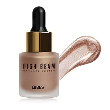 Liquid Highlighter Contouring, Brighten Shimmer 3D Highlighters Ultra-concentrated Illuminating Bronzing Drops - 4 Colors Available
