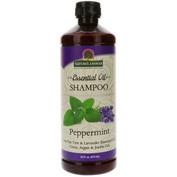 NATURE'S ANSWER Essential Oil Shampoo Peppermint