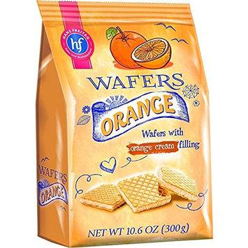 Hans Freitag Wafers with Orange Cream Filling 300g (10.6oz)