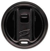 DIXIE TP9550B Dome Lid,20 to 24 oz, Black, PK1000