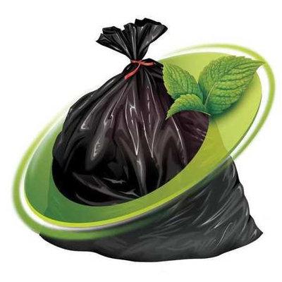MINT-X MX4347STB Trash Bag,56 gal, LLDPE, Black, PK100