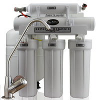 ABCwaters High Efficiency Water Saving 5-Stage Reverse Osmosis Drinking Water System with Upgraded Pentair Membrane, 1 to 1 ratio