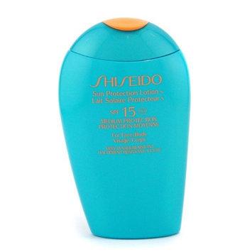 Shiseido Sun Protection Lotion 5-ounce Sunscreen with SPF 15