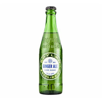 Boylan Cane Sugar Ginger Ale 12 oz. (24 Bottles)
