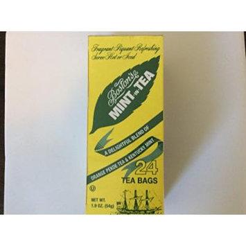 Boston's mint-in-tea , individual tea bags, 24 count (pack of 6)