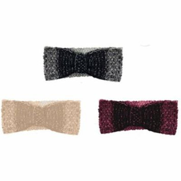 Rampage 2280342 Marled Ombre Lurex Knit Headwrap, Case of 48